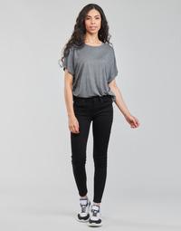 衣服 女士 牛仔铅笔裤 G-Star Raw ARC 3D MID SKINNY 黑色
