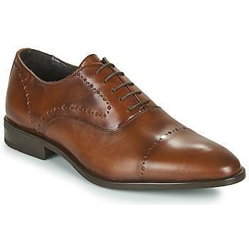 鞋子 男士 系带短筒靴 André CLASSEL 棕色