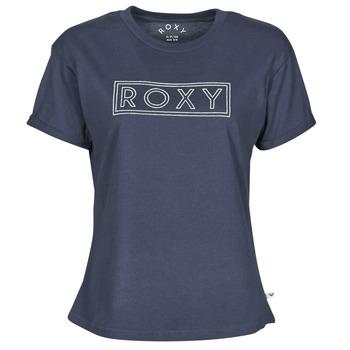 衣服 女士 短袖体恤 Roxy 罗克西 EPIC AFTERNOON WORD 海蓝色