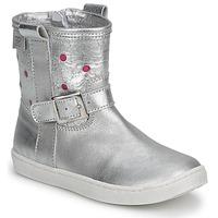 鞋子 女孩 短筒靴 Pinocchio 匹诺曹  银灰色 / Fucia