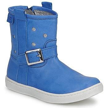 鞋子 女孩 短筒靴 Pinocchio 匹诺曹 RABIDA 蓝色