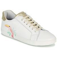鞋子 女孩 球鞋基本款 GBB EDONIA 白色