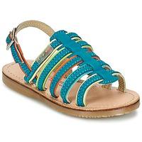 鞋子 女孩 凉鞋 Les Tropéziennes par M Belarbi MISS 蓝色