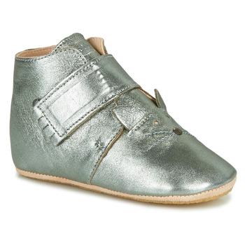 鞋子 儿童 拖鞋 Easy Peasy KINY CHAT MOU GRIS VERT MOU/PATIN
