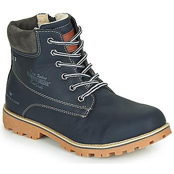 鞋子 男孩 短筒靴 Tom Tailor 汤姆裁缝 70502-NAVY 海蓝色