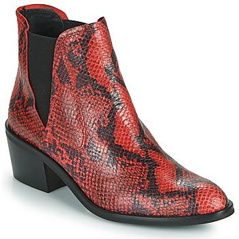 鞋子 女士 短筒靴 Fericelli NIAOW 黑色 / 红色