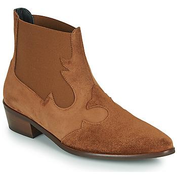 鞋子 女士 短筒靴 Fericelli NANTIAG 驼色