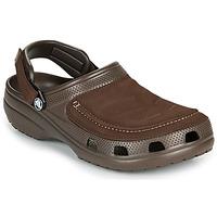 鞋子 男士 洞洞鞋/圆头拖鞋 crocs 卡骆驰 YUKON VISTA II CLOG M 棕色