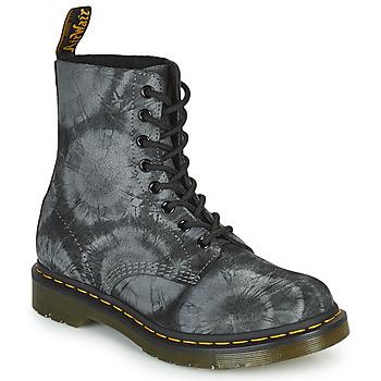 鞋子 女士 短筒靴 Dr Martens 1460 PASCAL 黑色 / 灰色