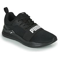 鞋子 男士 球鞋基本款 Puma 彪马 PUMA WIRED RUN 黑色