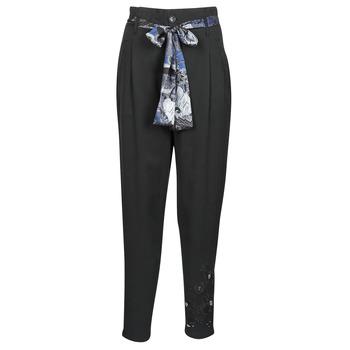衣服 女士 女士阔腿裤/灯笼裤 Desigual CHARLOTTE 黑色