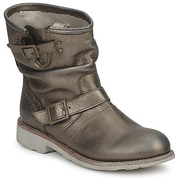 鞋子 女士 短筒靴 Bikkembergs VINTAGE 502 Lead