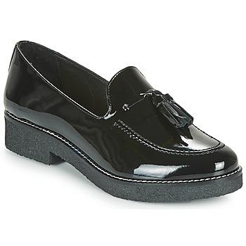 鞋子 女士 皮便鞋 André PIGISTE 黑色