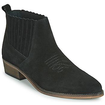 鞋子 女士 短筒靴 André MANA 黑色