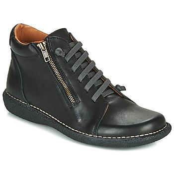 鞋子 女士 短筒靴 Casual Attitude NELIO 黑色