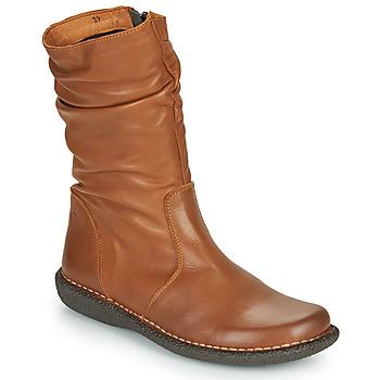 鞋子 女士 短筒靴 Casual Attitude NIELOO 驼色