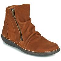 鞋子 女士 短筒靴 Casual Attitude NELIOO 棕色