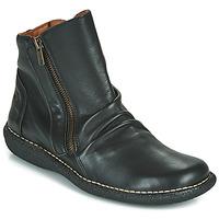 鞋子 女士 短筒靴 Casual Attitude NELIOO 黑色