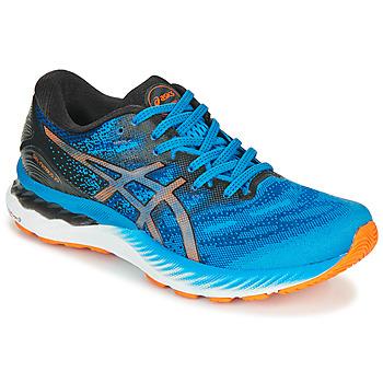 鞋子 男士 跑鞋 Asics 亚瑟士 NIMBUS 23 蓝色 / 多彩