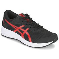 鞋子 男士 跑鞋 Asics 亚瑟士 PATRIOT 12 黑色 / 红色