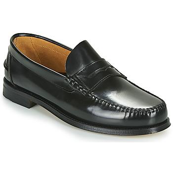 鞋子 男士 皮便鞋 André BOMOC 黑色