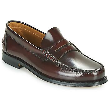 鞋子 男士 皮便鞋 André BOMOC 波尔多红