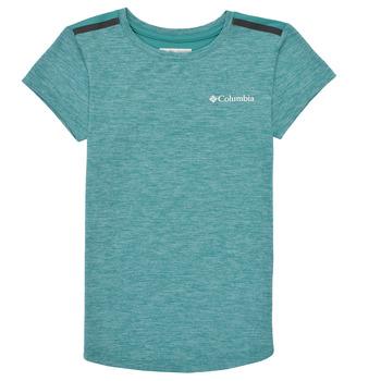 衣服 女孩 短袖体恤 Columbia 哥伦比亚 TECH TREK 绿色