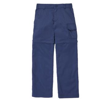 衣服 女孩 多口袋裤子 Columbia 哥伦比亚 SILVER RIDGE IV CONVTIBLE PANT 海蓝色