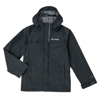 衣服 男孩 夹克 Columbia 哥伦比亚 WATERTIGHT JACKET 黑色