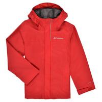衣服 男孩 夹克 Columbia 哥伦比亚 WATERTIGHT JACKET 红色
