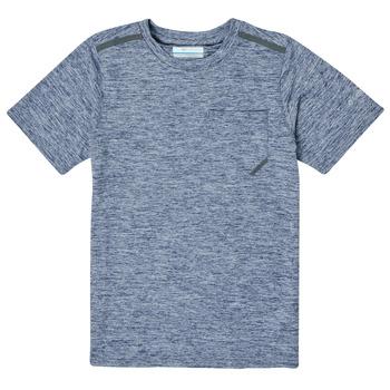 衣服 男孩 短袖体恤 Columbia 哥伦比亚 TECH TREK 海蓝色