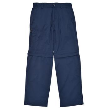 衣服 男孩 多口袋裤子 Columbia 哥伦比亚 SILVER RIDGE IV CONVERTIBLE PANT 海蓝色