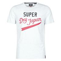 衣服 男士 短袖体恤 Superdry 极度干燥 COLLEGIATE GRAPHIC TEE 185 灰色