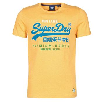 衣服 男士 短袖体恤 Superdry 极度干燥 VL TRI TEE 220 黄色