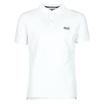 衣服 男士 短袖体恤 Superdry 极度干燥 CLASSIC PIQUE S/S POLO Optic