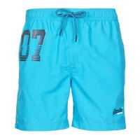 衣服 男士 男士泳裤 Superdry 极度干燥 WATERPOLO SWIM SHORT 蓝色