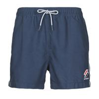 衣服 男士 男士泳裤 Superdry 极度干燥 TRI SERIES SWIM SHORT 蓝色