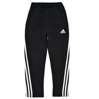 衣服 男孩 厚裤子 adidas Performance 阿迪达斯运动训练 B 3S TAPERED P 黑色