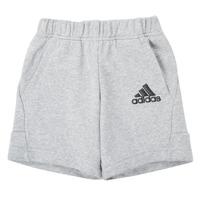 衣服 男孩 短裤&百慕大短裤 adidas Performance 阿迪达斯运动训练 B BOS SHORT 灰色