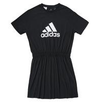 衣服 女孩 短裙 adidas Performance 阿迪达斯运动训练 G DANCE DRESS 黑色