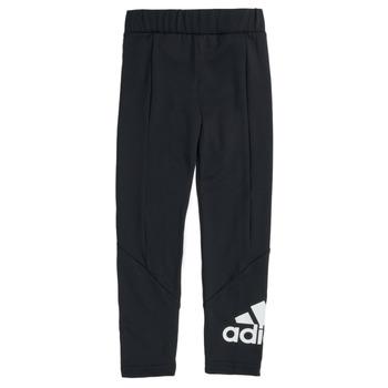 衣服 女孩 紧身裤 adidas Performance 阿迪达斯运动训练 G BL TIG 黑色