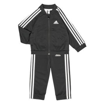 衣服 男孩 女士套装 adidas Performance 阿迪达斯运动训练 3S TS TRIC 黑色