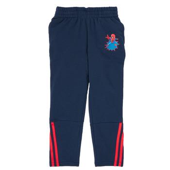衣服 男孩 厚裤子 adidas Performance 阿迪达斯运动训练 LB DY SHA PANT 海蓝色