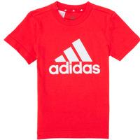 衣服 男孩 短袖体恤 adidas Performance 阿迪达斯运动训练 B BL T 红色