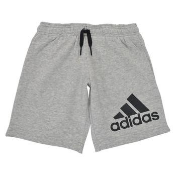 衣服 男孩 短裤&百慕大短裤 adidas Performance 阿迪达斯运动训练 B BL SHO 灰色