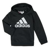 衣服 男孩 卫衣 adidas Performance 阿迪达斯运动训练 B BL HD 黑色