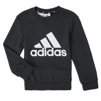 衣服 男孩 卫衣 adidas Performance 阿迪达斯运动训练 B BL SWT 黑色