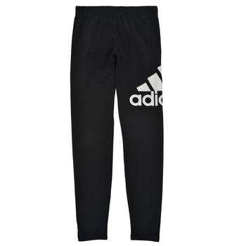 衣服 女孩 紧身裤 adidas Performance 阿迪达斯运动训练 G BL LEG 黑色