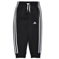 衣服 男孩 厚裤子 adidas Performance 阿迪达斯运动训练 B 3S FL C PT 黑色