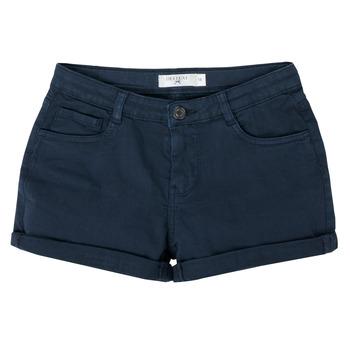 衣服 女孩 短裤&百慕大短裤 Deeluxe CERISE 海蓝色